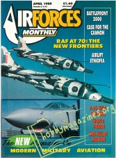 Air Forces Monthly First Issue - April 1988