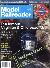 Model Railroader – January 1988