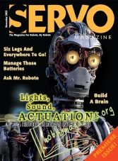 Servo Premiere Issue - November 2003