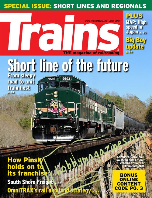Trains – June 2017