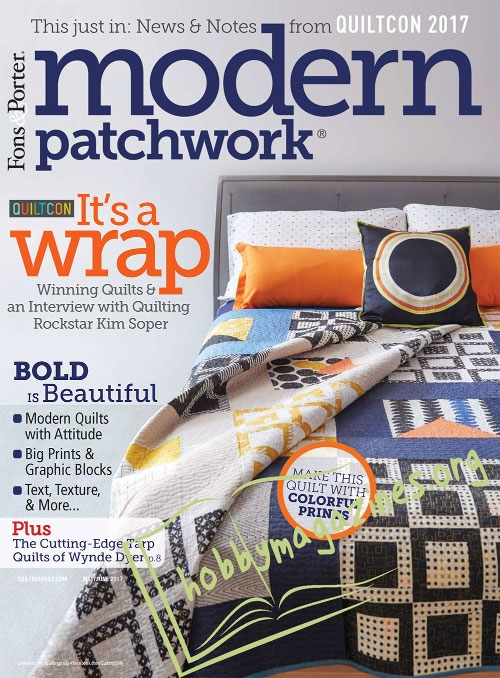 Modern Patchwork - May/June 2017