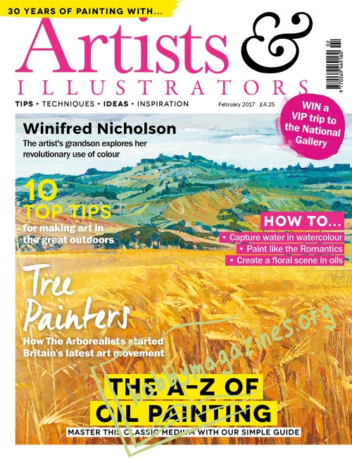 Artists & Illustrators - February 2017