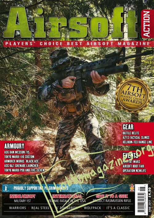 Airsoft Action – June 2017