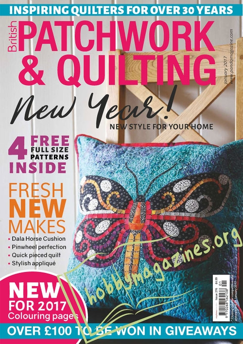 Patchwork & Quilting – January 2017