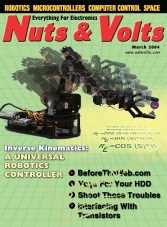 Nuts And Volts - March 2004