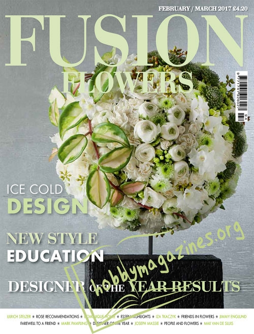 Fusion Flowers – February/March 2017