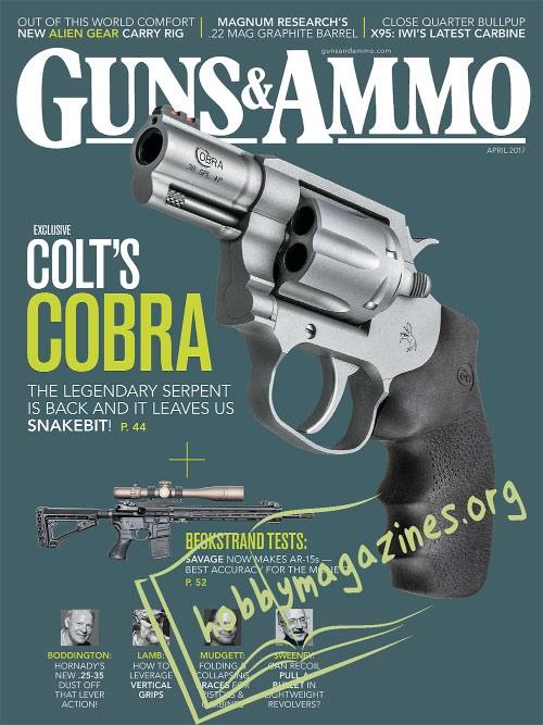 Guns & Ammo – April 2017