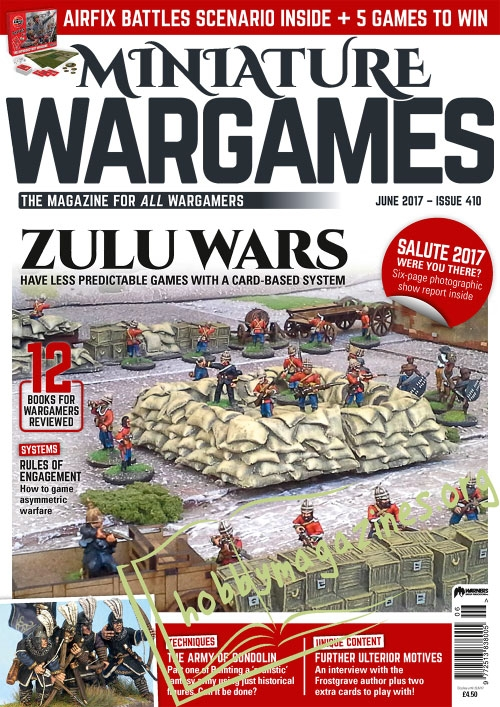 Miniature Wargames - June 2017