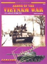 Armor At War : Armor of the Vietnam War (2) Asian Forces