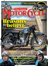 The Classic Motorcycle – July 2017