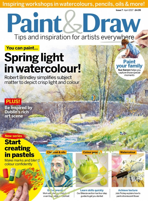 Paint & Draw 07 – April 2017