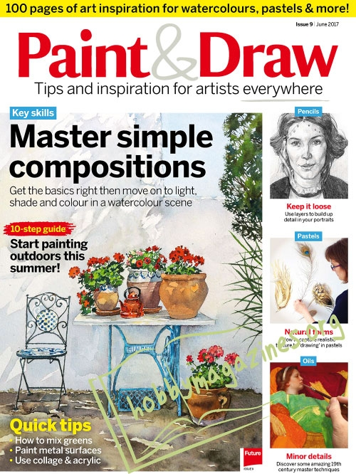 Paint & Draw 09 – June 2017