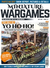 Miniature Wargames - July 2017