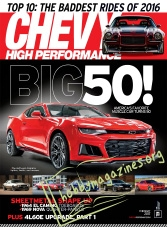 Chevy High Performance - February 2017