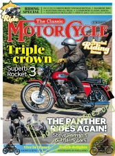 The Classic MotorCycle - August 2017