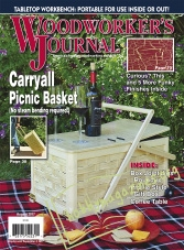 Woodworker's Journal – August 2017