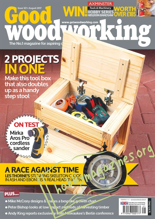 Good Woodworking – August 2017