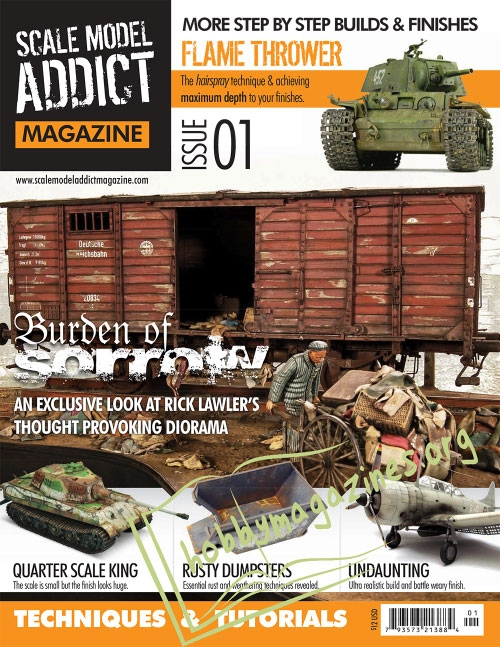 Scale Model Addict Magazine Issue 01