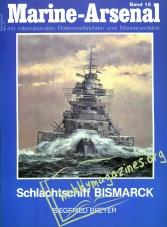 Marine-Arsenal 015 - Schlachtschiff BISMARCK
