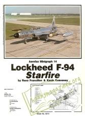 Aerofax Minigraph 14 - Lockheed F-94 Starfire