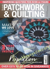 Patchwork & Quilting – February 2017
