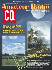 CQ Amateur Radio – March 2017