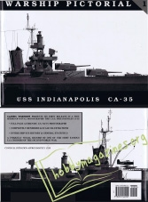 Warship Pictorial 01 : USS Indianapolis CA-35