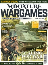 Miniature Wargames - August 2017