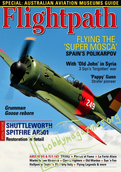 Flightpath - August/September/October 2017