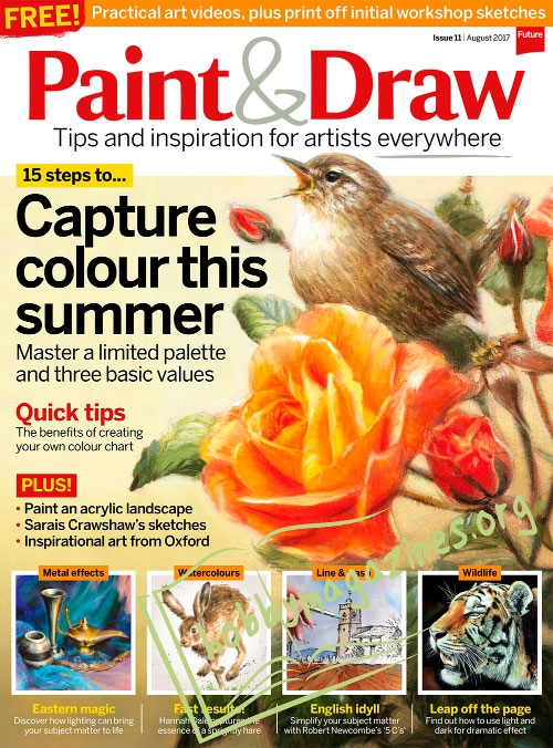 Paint & Draw 11 – August 2017