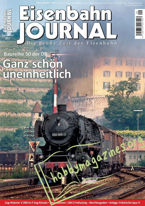Eisenbahn Journal – September 2017