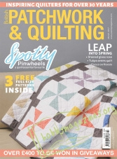 Patchwork and Quilting – March 2017