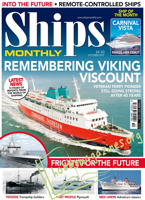 Ships Monthly – October 2017