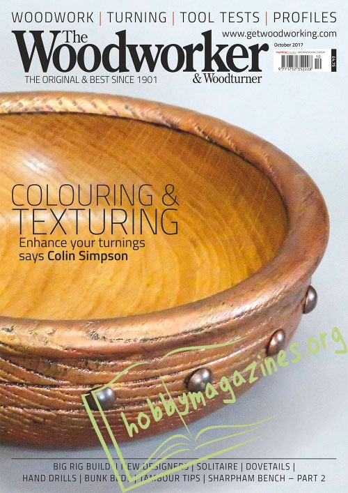 The Woodworker and Woodturner – October 2017