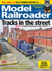 Model Railroader – October 2017