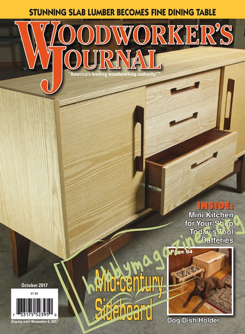 Woodworker's Journal - October 2017