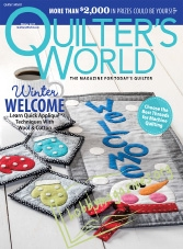 Quilters World - October 2017