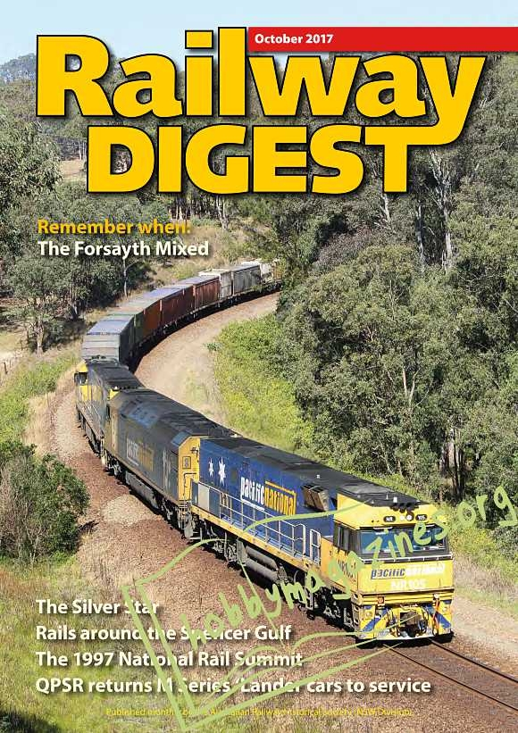Railway Digest - October 2017