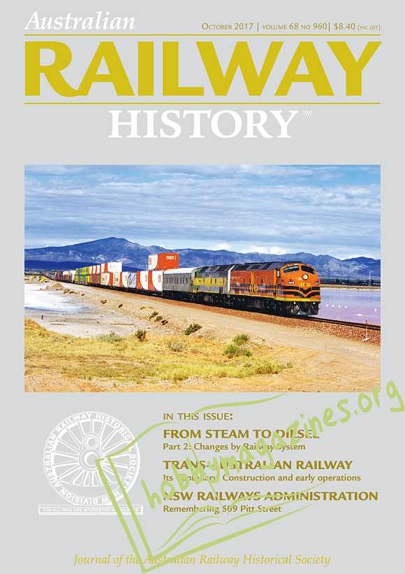 Australian Railway History - October 2017
