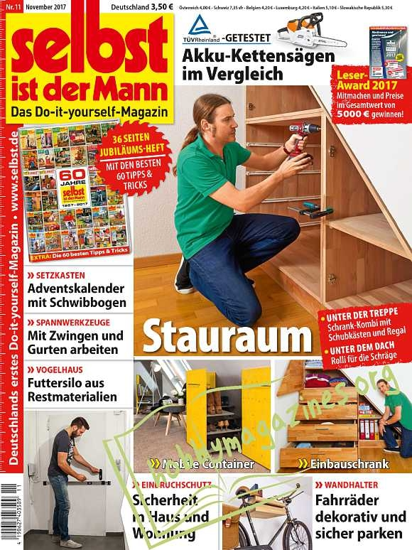 selbst ist der mann november 2017 hobby magazines free download digital magazines and books. Black Bedroom Furniture Sets. Home Design Ideas