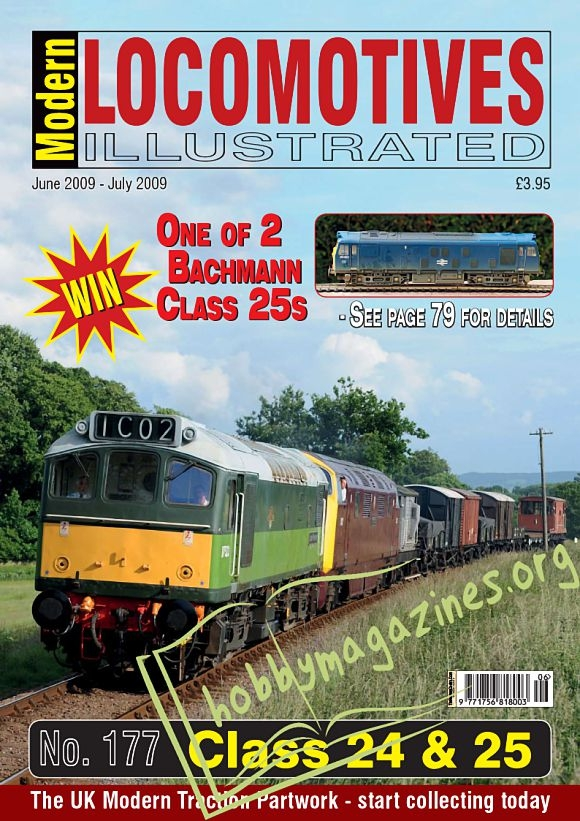 Modern Locomotives Illustrated - June/July 2009