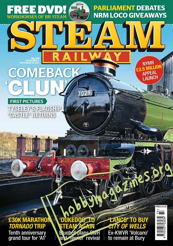 Steam Railway - 03-30 November 2017