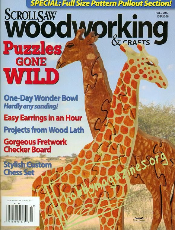 ScrollSaw Woodworking & Crafts 068 - Fall 2017