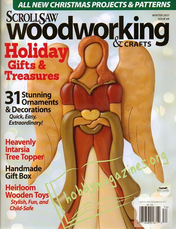 ScrollSaw Woodworking & Crafts 069 - Winter 2017