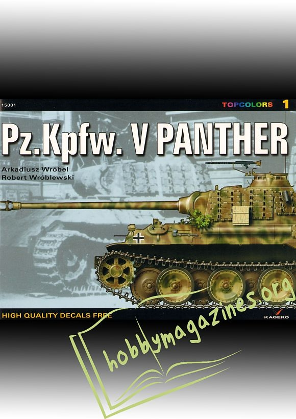 Topcolors 01 : Pz.Kpfw.V. Panther
