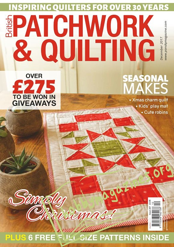 Patchwork & Quilting - December 2017