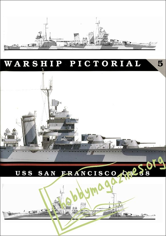 Warship Pictorial 05 : USS San Francisco CA-38