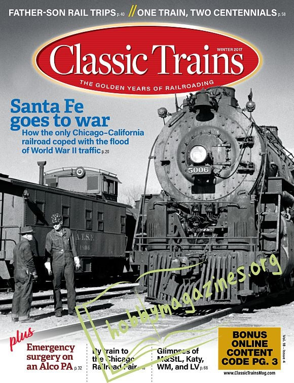 Classic Trains - Winter 2017