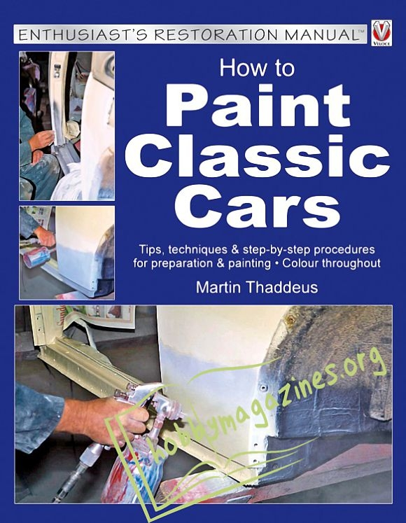 How to Paint Classic Cars (ePub)