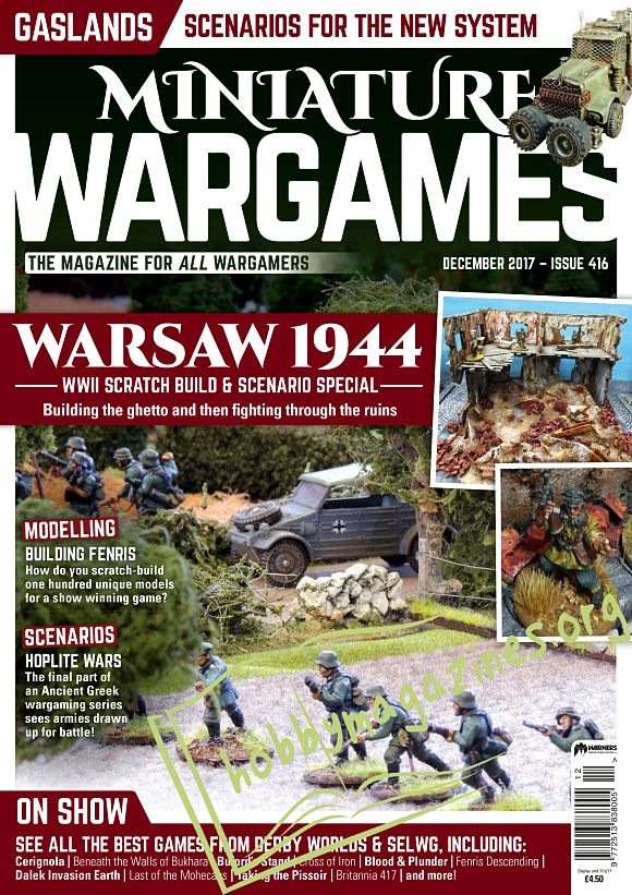Miniature Wargames - December 2017